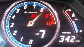 Download 0-342 km/h Lamborghini Huracan ACCELERATION TOP SPEED INSANE! Autobahn Drive Test AKRAPOVIC Sound Video
