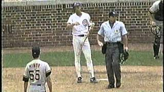 Download Cubs-Pirates, Aug. 2, 1993 (6th inning, brawls and HRs) Video