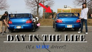 Download DAY IN A LIFE OF A SUBIE DRIVER | RIVER SANDERS Video
