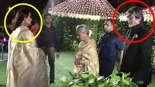 Download Amitabh Bachchan And Rekha Together At Ronnie Screwvala's Daughter Wedding Reception Video