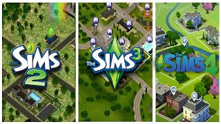 Download Sims 2 vs Sims 3 vs Sims 4 - Worlds Video