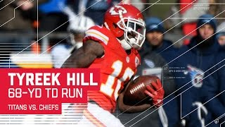 Download Tyreek Hill Burns the Titans Defense! | Titans vs. Chiefs | NFL Week 15 Highlights Video