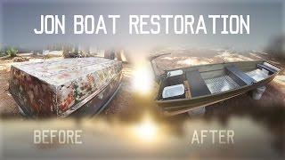 Download $100 Jon Boat Restoration Project (2016) Video