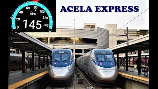 Download Boston to New York High Speed Journey on board Amtrak's Acela Express!!! Video