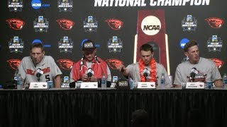 Download 2018 College World Series - CWS Championship Finals Game 3 Press Conference (Oregon State) Video