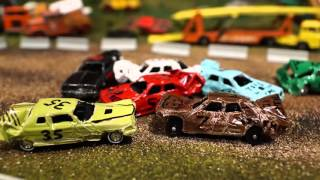 Download STOP MOTION Hot Wheels DEMO DERBY Video