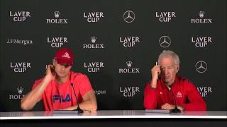 Download Isner and McEnroe Press Conference (Match 2)   Laver Cup 2017 Video