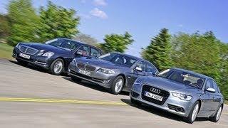 Download Audi A6, BMW 5er, Mercedes E-Klasse - Businessclass-Limousinen Video