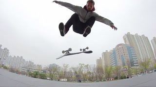 Download Getting Techy with Street Skate Ninja Alex Mizurov Video