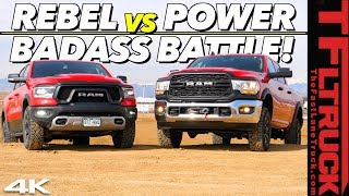 Download New Ram Rebel vs New Power Wagon: We Put Them Through a Battery Of Tests To Find Which One Is Best! Video