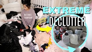 Download EXTREME Konmari Method Decluttering! Declutter My Makeup, Clothes & More! - MissLizHeart Video