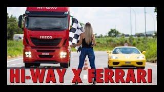 Download HI-WAY X FERRARI - Uma competição inédita no Brasil Video