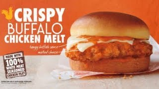 Download Burger King Crispy Buffalo Chicken Melt & Cheesy Tots Video