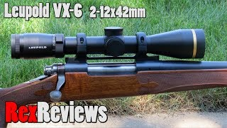 Download Leupold VX-6 Scope with Boone and Crockett Reticle ~ Rex Reviews Video