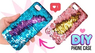 Download DIY Amazing VIRAL Color-Changing Phone Case!! DIY Mermaid Sequin Phone Case! Video