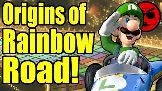 Download Origins of Mario Kart 8 Deluxe's Rainbow Road! - Game Exchange Video