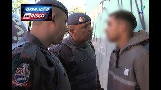 Download Ex-detentos são pegos em flagrante tentando empurrar motos furtadas Video