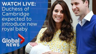 Download Royal baby: William and Kate welcome third child, a baby boy Video