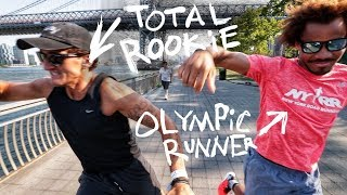 Download CASEY + AN OLYMPIAN GO RUNNING Video