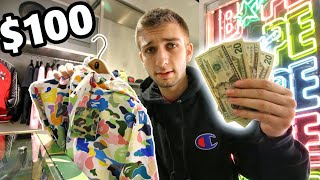 Download WHAT CAN $100 BUY YOU AT BAPE?! THIS was SHOCKING Video