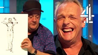 Download Johnny Vegas Is VERY Good At Drawing Naked People | 8 Out Of 10 Cats Does Countdown Best Bits Pt. 6 Video