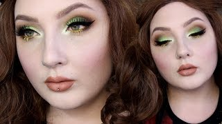 Download Green & Rust Smokey Eye Makeup Tutorial Video