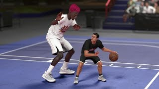 Download Can A Giant 0 Overall Player Beat A Tiny 99 Overall Player In A 1v1? NBA 2K18 Challenge! Video