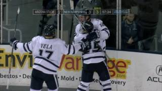 Download UNH Men's Hockey vs Arizona State Highlights (11-12-16) Video