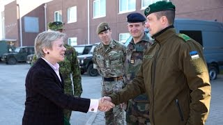 Download Deputy Secretary General Rose Gottemoeller visits NATO's enhanced Forward Presence in Estonia Video