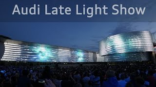 Download Audi Late Light Show - Projection Mapping on Audi Forum Ingolstadt 4K Video