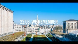 Download 22/3 En souvenir - In herinnering - We remember Video