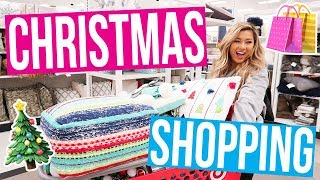 Download CHRISTMAS DECOR SHOPPING AT TARGET!! 2017 Video