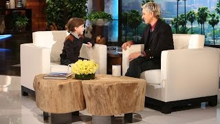 Download Jacob Tremblay Joins Ellen for the First Time Video