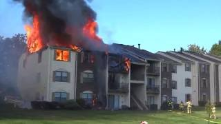 Download BERNARDS TWP. NEW JERSEY 2ND ALARM WORKING FIRE 9/12/16 FULLY INVOLVED TOWNHOUSE APARTMENTS Video