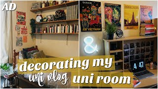 Download uni vlog: decorating my room - pAtHeTiC tO AeStHeTiC Video