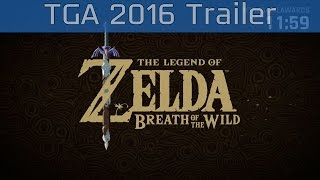 Download The Legend of Zelda: Breath of the Wild - The Game Awards 2016 Trailer [HD 1080P] Video