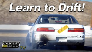 Download Learn to Drift - How to and Exercises with Drift 101 - Everyday Driver Adventure Video