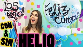 Download GLOBOS CONFETTI GIGANTES DECORADOS | ¡CON Y SIN HELIO! | SUSIDEAS💡 Video