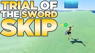 Download Trial of the Sword Skip in The Legend of Zelda: Breath of the Wild | Austin John Plays Video