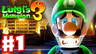 Download Luigi's Mansion 3 - Gameplay Walkthrough Part 1 - Welcome to the Last Resort! (Nintendo Switch) Video