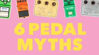 Download ″6 Pedal Myths″ JHS VLOG Video
