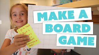 Download HOW TO MAKE A BOARD GAME at home – with Lillie Video