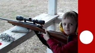 Download Les armes pour enfants, habituel dans l'Amérique rurale Video