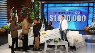 Download Extended Cut - Ellen Gives a Deserving Family the Single Biggest Gift Ever! Video