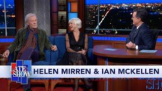 Download Helen Mirren & Ian McKellen Act Out Trump's Ukraine Quid Pro Quo Call Video