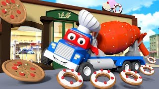Download The great party in Car City ! - Carl the Super Truck in Car City | Children Cartoons Video