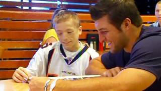 Download My Wish: Tim Tebow meets Adam Video