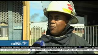 Download Durban factory fire contained, but not fully extinguished Video