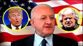 Download De Luca su Grillo che salta per Trump Video