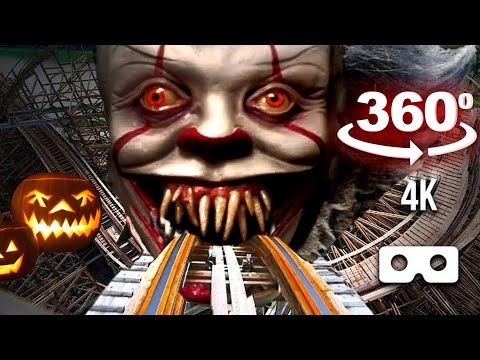 360 Video | Siren Head VR Roller Coaster Theme Park Part 3